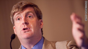 Rep. Patrick Kennedy is in trouble with the Catholic Church over his support of abortion rights.