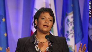 EPA administrator Lisa Jackson said Monday that greenhouse gases are a public health threat.
