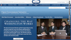 The Obama administration released its Open Government Directive on Tuesday.