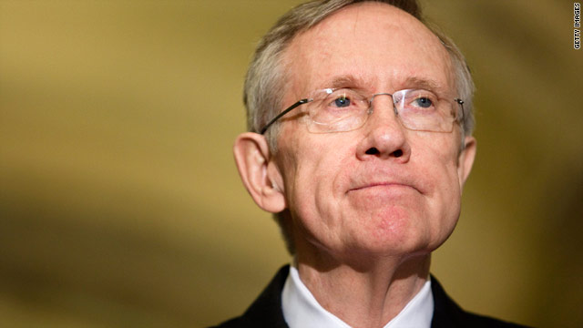 Senate Majority Leader Harry Reid wants a final vote on the Senate health care bill before Christmas.