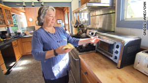 Susan Chandler has seen her monthly electricity bill fall from $100 a year ago to $36.