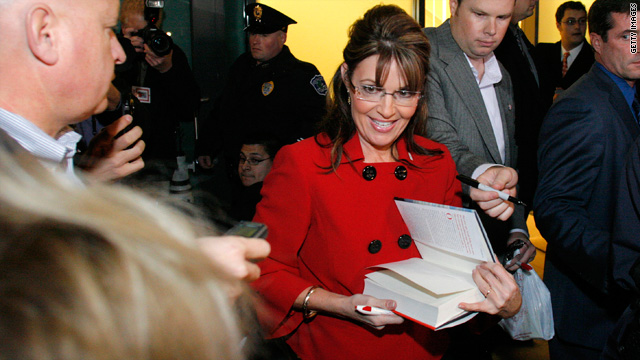 Mann: Palin needs to decide if she's going to be a celebrity author, a working politician or a face on the fringes of U.S. public life.