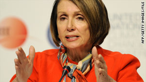 Nancy Pelosi said staff will provide comparison of bills soon to help members prioritize the changes they want to see.