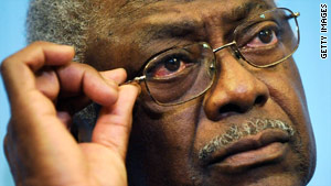 Rep. James Clyburn of South Carolina has said he could vote for a bill without the government insurance plan.