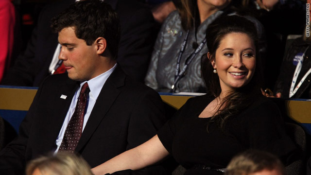 Levi Johnston joined Bristol Palin and her family at the Republican National Convention in 2008.