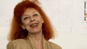 Jeanne-Claude died Wednesday from complications of a ruptured brain aneurysm, her Web site said.