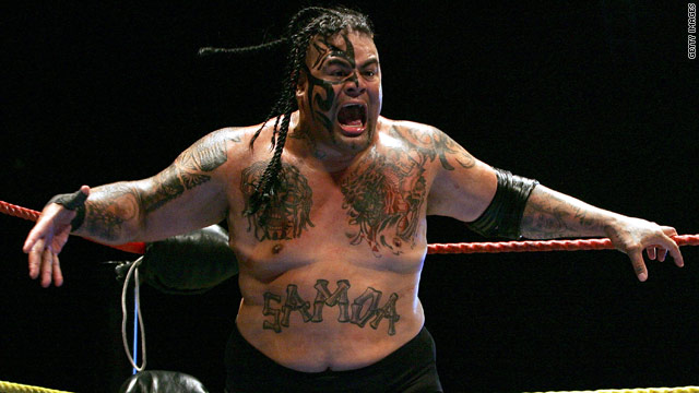 "Known as ""The Samoan Bulldozer,"" Edward Fatu was a member of the Anoa'i wrestling family."