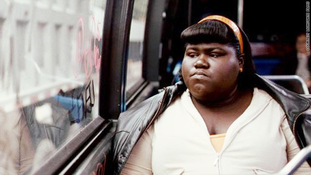 "Gabourey Sidibe received a SAG award nomination for an oustanding performance by an actress for her role in ""Precious."""