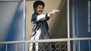 "Michael Jai White stars in the new spoof ""Black Dynamite."""