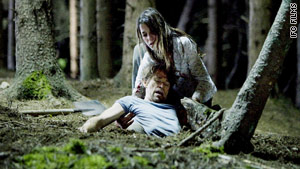 "Willem Dafoe and Charlotte Gainsbourgh star in Lars von Trier's ""Antichrist."""