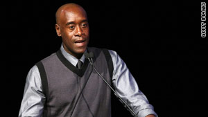 Don Cheadle has been outspoken about raising awareness about the Darfur genocide.