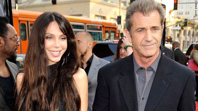 Oksana Grigorieva and boyfriend Mel Gibson welcomed their new daughter on Friday.