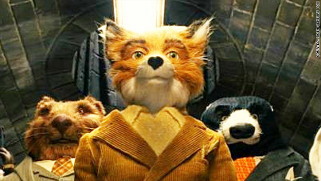 "George Clooney stars as the ""Fantastic Mr. Fox"""