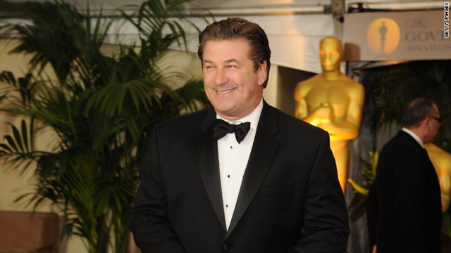 Baldwin is set to co-host the Academy Awards in March with Steve Martin.