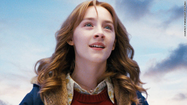 "Saoirse Ronan is the lead in Peter Jackson's ""The Lovely Bones."""