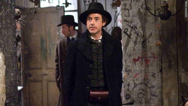 """Jude Law is Dr. Watson and Robert Downey Jr. is Sherlock Holmes in """"Sherlock Holmes."""""""