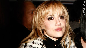 "Brittany Murphy gained acclaim for her movie roles, including ""Clueless"" and *8 Mile."""
