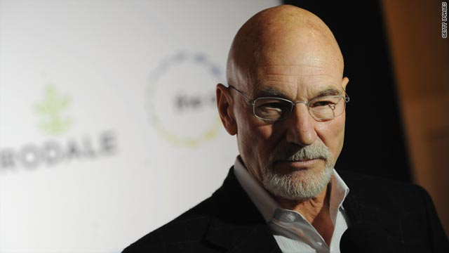 Actor Patrick Stewart -- a 69-year-old Yorkshire, England, native -- tops the list of those receiving New Year's honors.