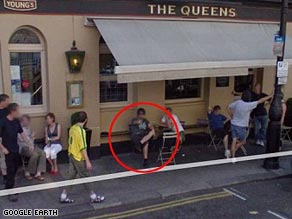 Google Earth Street View Funny Picture