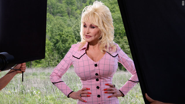 Dolly Parton: Always ready for camera action