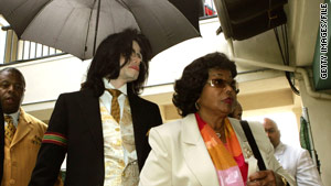 Katherine Jackson, with Michael in 2005, is challenging the appointment of Michael's estate trustees.