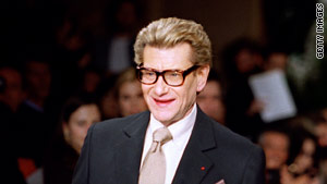 Late French fashion designer Yves Saint Laurent debuted at No. 1 on Forbes' list of high-grossing celebrity estates.