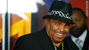 Joe Jackson lives apart from his wife, Katherine, a main beneficiary of Michael Jackson's will.