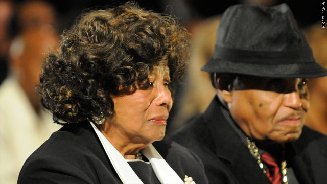 Katherine and Joe Jackson, shown in early September, are now at odds over son Michael's estate.