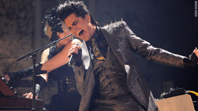 Adam Lambert shocked fans with his performance at the American Music Awards.