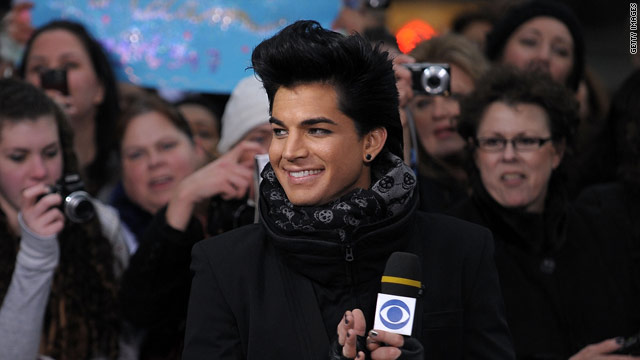 Adam Lambert recently told a radio show that he's felt more confident since coming down from 250 pounds.