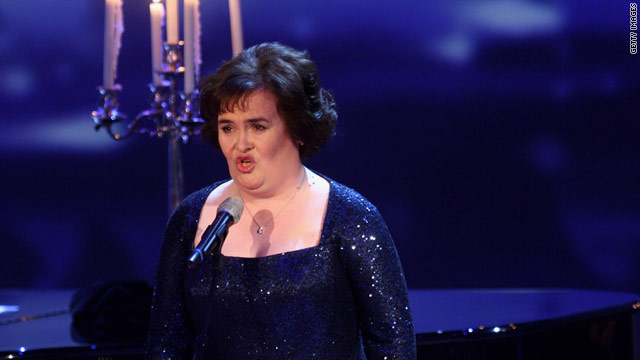 Susan Boyle was discovered on the reality TV show &quot;Britain's Got Talent.&quot;