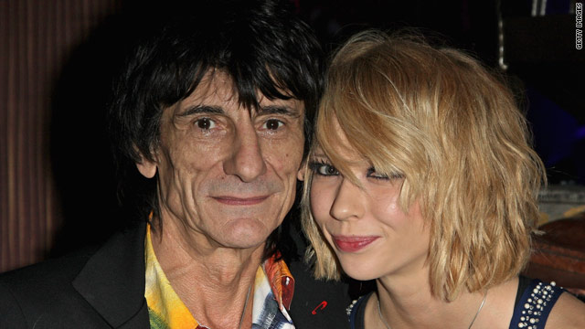 Ron Wood has reportedly been dating Ekaterina Ivanova for a year.