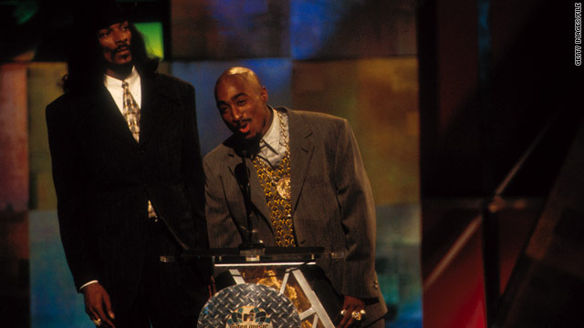 A song by Tupac Shakur, shown in 1996 at the MTV Video Music Awards,  was selected by the Vatican for its playlist.
