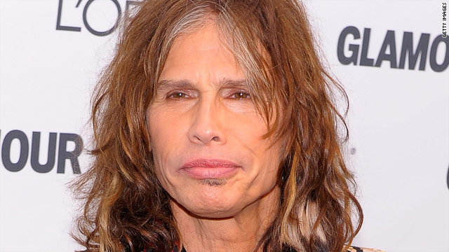 steven tyler family photo. Steven Tyler developed a