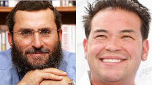 Rabbi Shmuley Boteach is offering Jon Gosselin spiritual guidance, the reality star says.