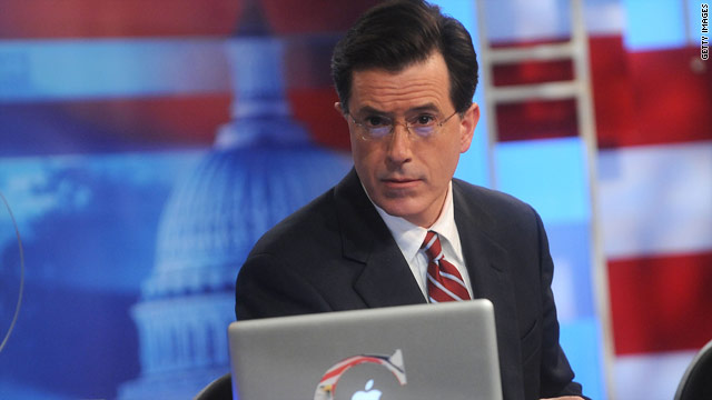 The &quot;Colbert Nation&quot; will be the primary sponsor of the U.S. speed skating team, the comedian announced on his show.