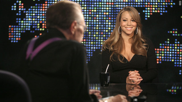 "Mariah Carey talked babies, abuse and ""ugly juice"" when she sat down with CNN's Lary King."
