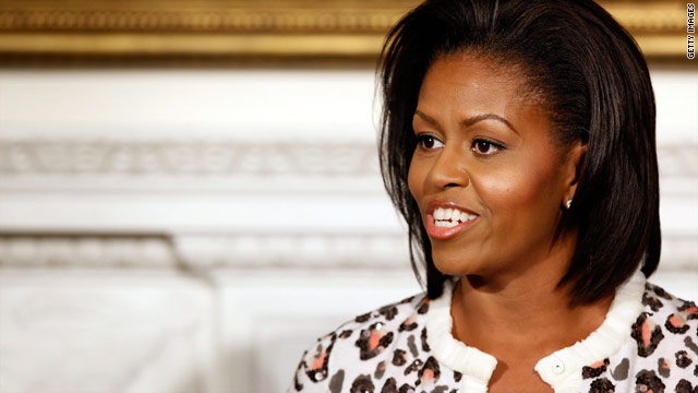"First lady Michelle Obama will take part in an episode of ""Iron Chef America"" airing in January."