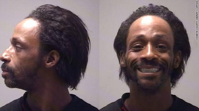 Comedian Katt Williams is pictured in his mug shot from the Coweta County, Georgia, Sheriff's Office.