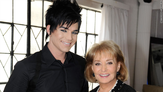 "Adam Lambert made Barbara Walters' list of ""The 10 Most Fascinating People"" of 2009."