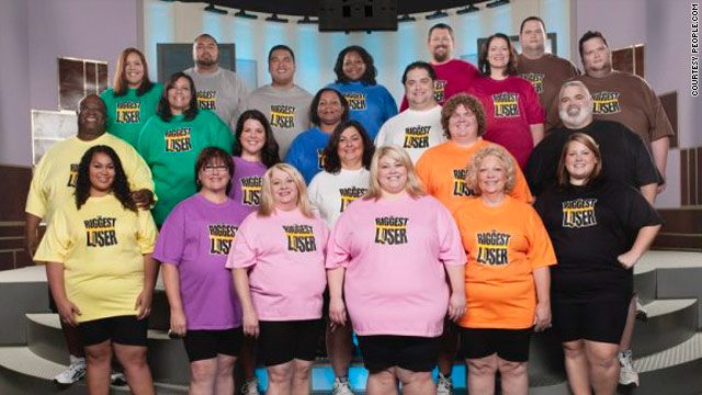 "The contestants on the next season of ""The Biggest Loser"" are the largeset yet."