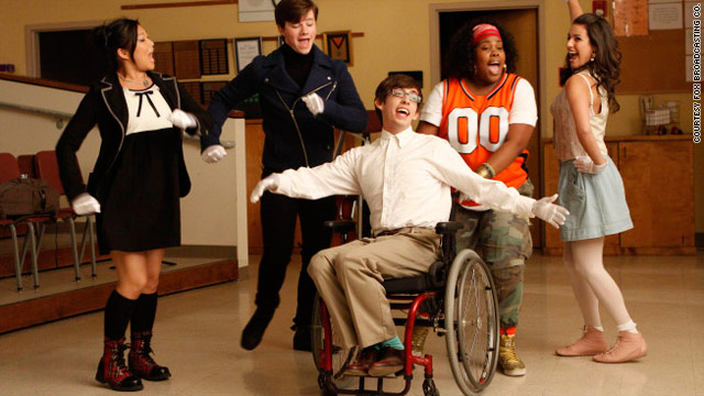 "The tuneful cast of ""Glee"" helped make the new series one of the best shows of 2009."