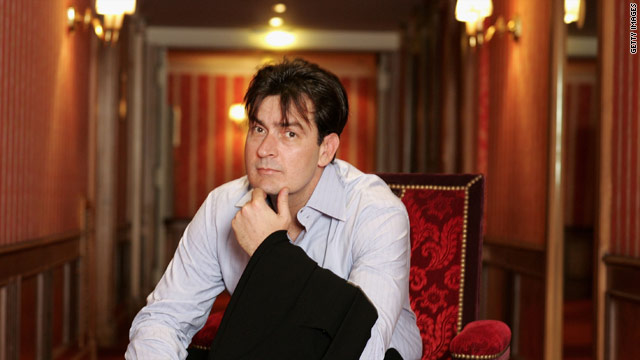 "Charlie Sheen topped the list of highest paid TV actors, earning a reported $825,000 per episode of ""Two and a Half Men."""