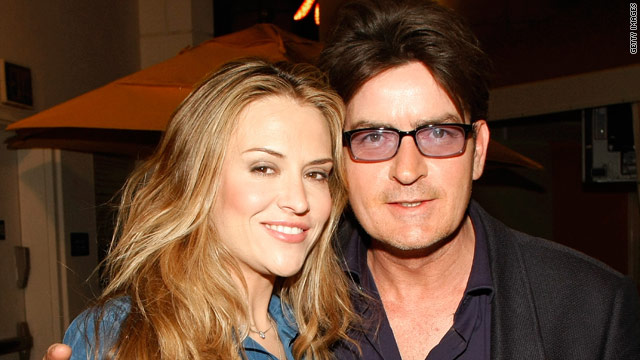 Charlie Sheen was arrested on Christmas Day in Aspen, while the couple was on vacation.