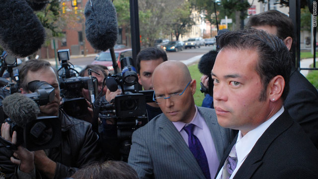 Jon Gosselin and ex-girlfriend Hailey Glassman continue to fling accusations at each other.