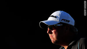 Jonzon left his rivals in the shade with a stunning third round 66.