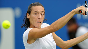 Schiavone turned on the style to power to victory in the Kremlin Cup final
