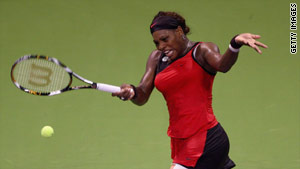 Serena Williams is seeking her second title at the season-ending event, having won it in 2001.