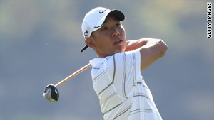 Anthony Kim will face Robert Allenby just three weeks after their controversial Presidents Cup clash.