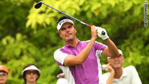 Daniel Chopra carded a flawless 65 to lead the rain-hit Singapore Open after two rounds.